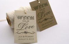 Free Printable Wedding Favor Tags
