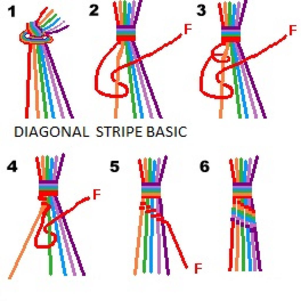Friendship Bracelets Patterns: Frienship Bracelet With Free - Free Printable Friendship Bracelet Patterns