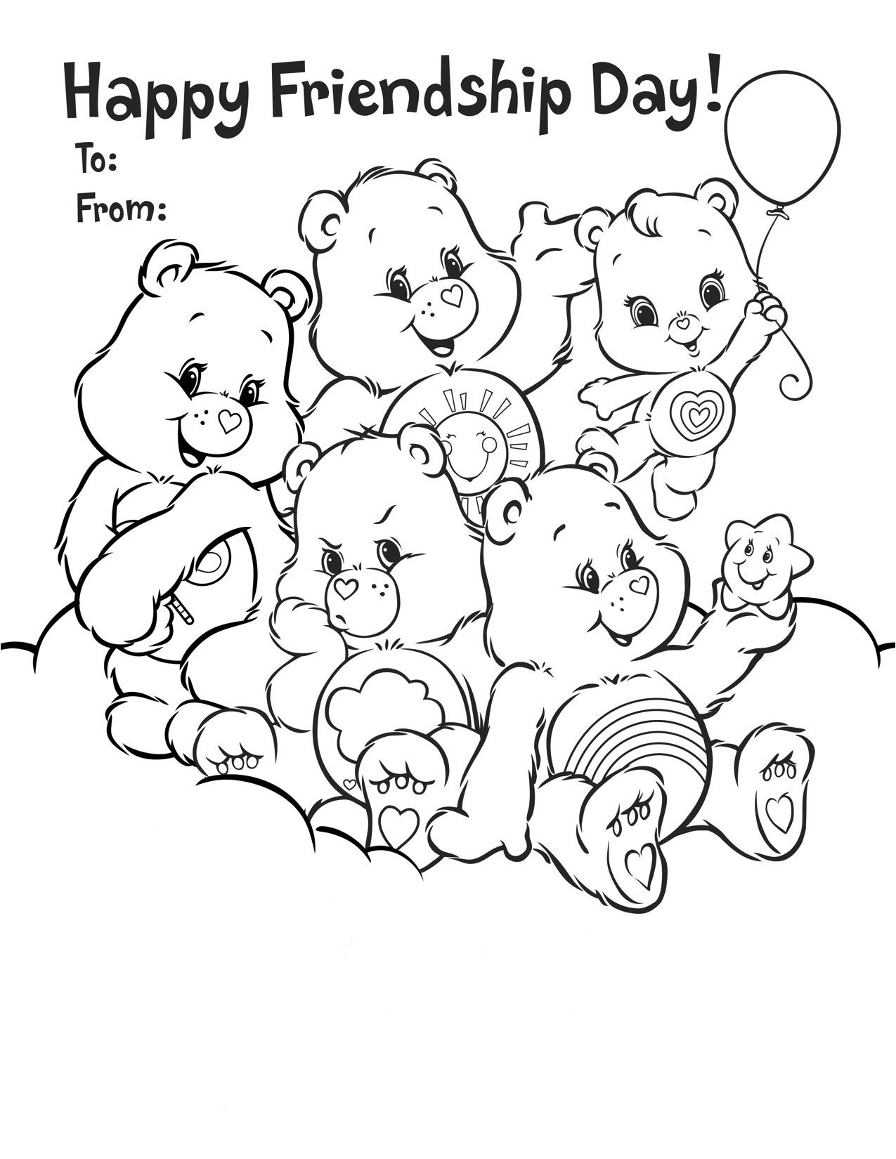 Friendship+Coloring+Pages+Printable | Coloring Pages | Pinterest - Free Printable Bff Coloring Pages