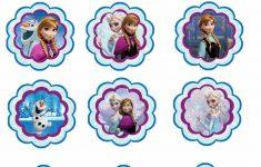 Free Printable Mermaid Cupcake Toppers