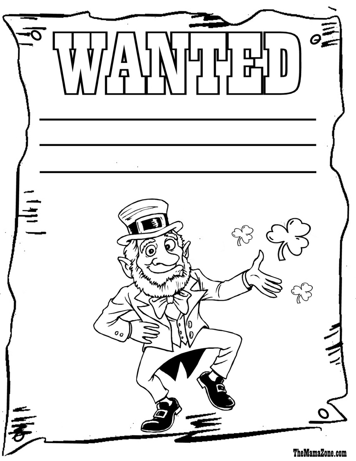 Frugal Mom And Wife: Free Printable St. Patrick's Day Coloring Pages! - Free Printable St Patrick Day Coloring Pages