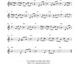 Fur Elise, Free Soprano Recorder Sheet Music Notes   Free Printable Recorder Sheet Music For Beginners