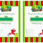 Get Free Printable Sesame Street 1St Birthday Invitations Templates – Free Printable Sesame Street Cupcake Toppers