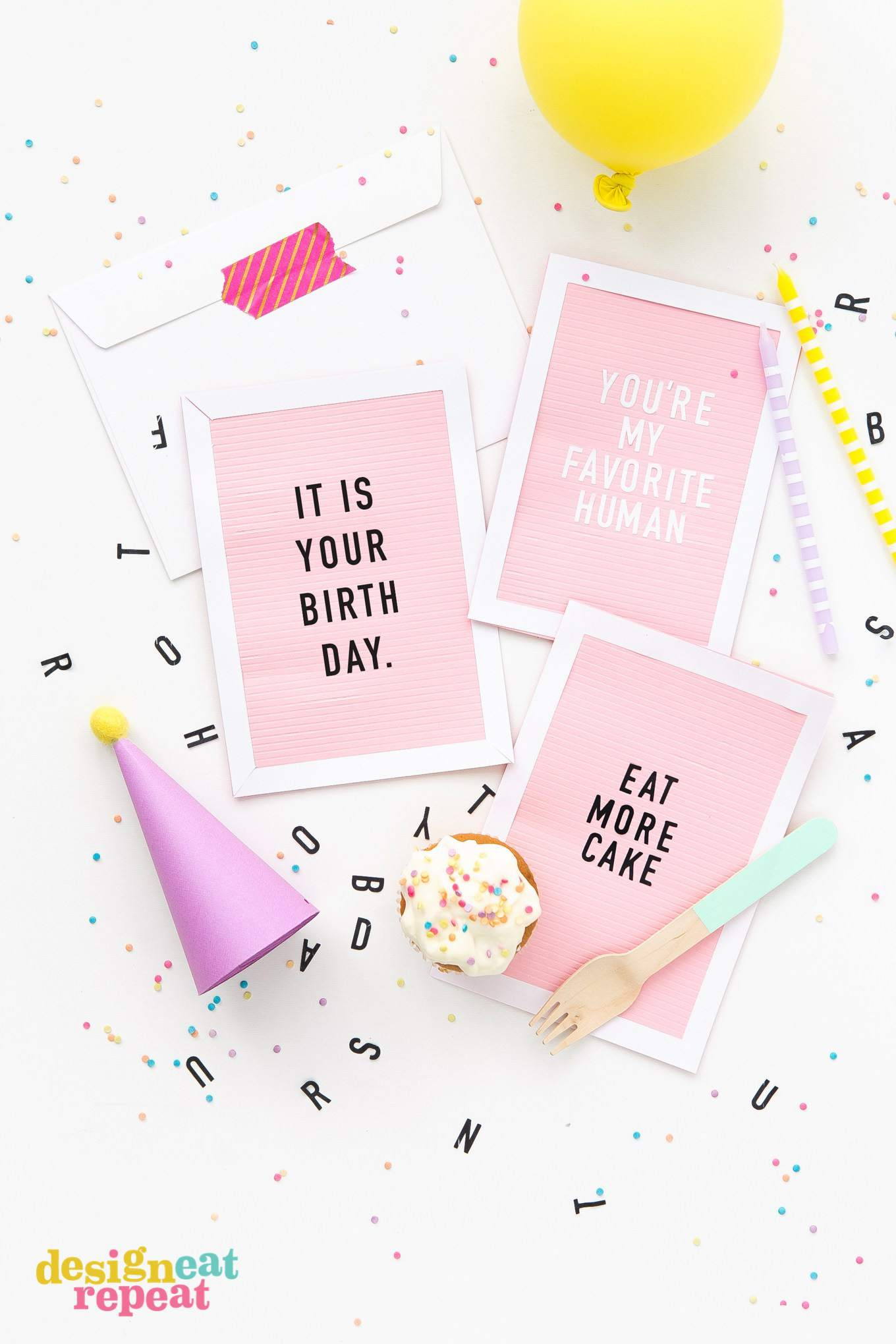 Get Inspiration From 25 Of The Best Diy Birthday Cards - Free Printable Birthday Cards For Your Best Friend