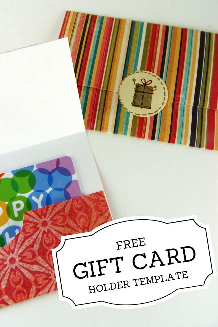 Gift Card Holder Templates | Printables | Pinterest | Printable Gift - Christmas Money Wallets Free Printable