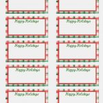 Gift Tag Label Template Luxury Of Name Free Printable Templates   Free Printable Gift Name Tags