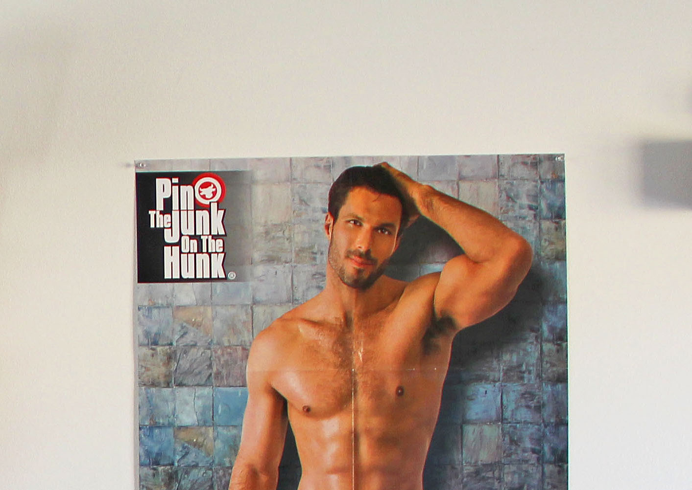 Girl's Night Out Bachelorette Bash - Pin The Junk On The Hunk Free Printable