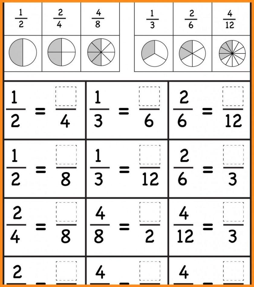 Grade 3Rd Fractions Worksheets Image Free Printable Comparing - Free Printable First Grade Fraction Worksheets