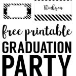 Graduation Party Free Printables | Graduation   Party, Decor And   Free Printable Graduation Address Labels