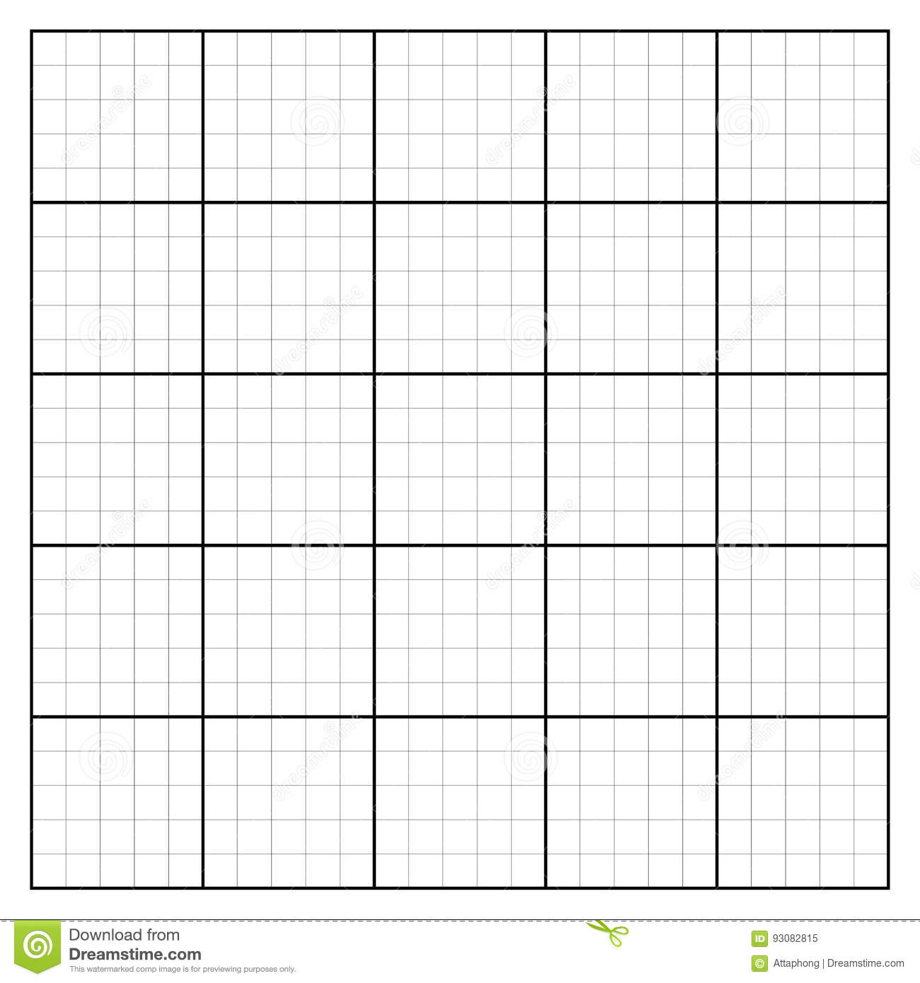 Graph Paper Coordinate Paper Grid Paper Squared Paper Stock Vector - Free Printable Squared Paper