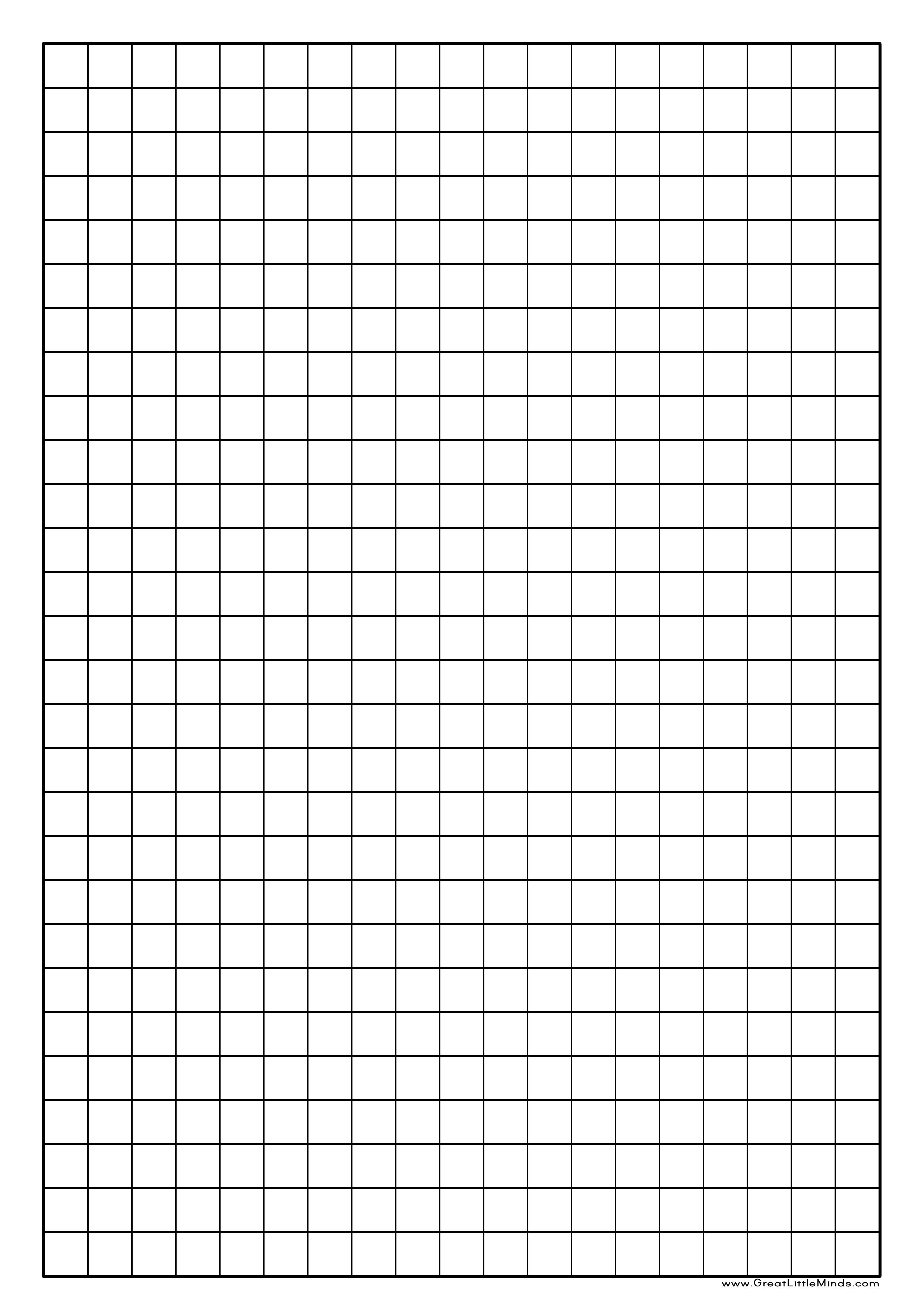 Graph Paper Printable | Click On The Image For A Pdf Version Which - Free Printable Graph Paper For Elementary Students