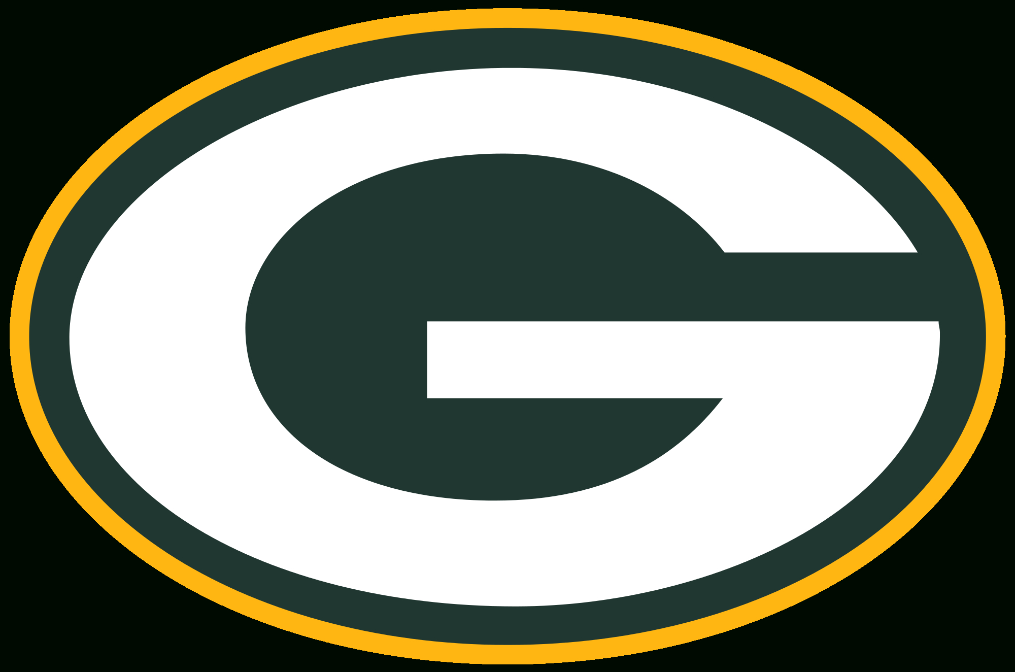 Green Bay Packers Drawing Logo Png Images - Free Printable Green Bay Packers Logo