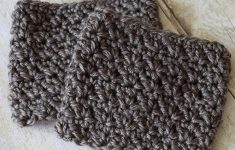 Half & Half Boot Cuffs - Crochet Pattern - Rescued Paw Designs Crochet - Free Printable Crochet Patterns For Boot Cuffs