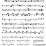 Hallelujah Piano Sheet Music | 악보 | Pinterest | Piano Sheet Music - Free Printable Piano Sheet Music For Hallelujah By Leonard Cohen