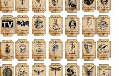 Halloween Magic Steampunk Mini Bottle Labels Glossy Stickers Set Of – Free Printable Potion Labels