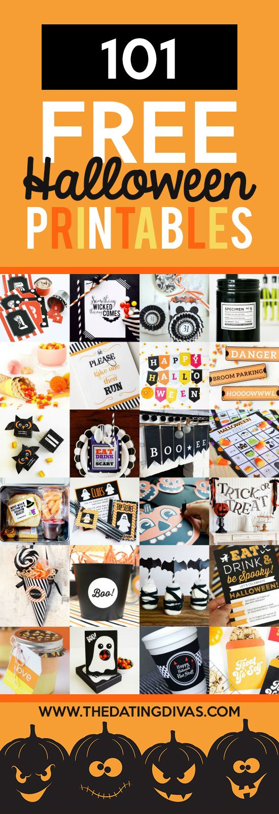 Halloween Party Decoration Printables Printable Halloween - Free Printable Halloween Party Decorations
