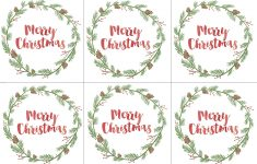 Hand Painted Gift Tags Free Printable | Christmas | Christmas Gift – Free Printable Holiday Labels