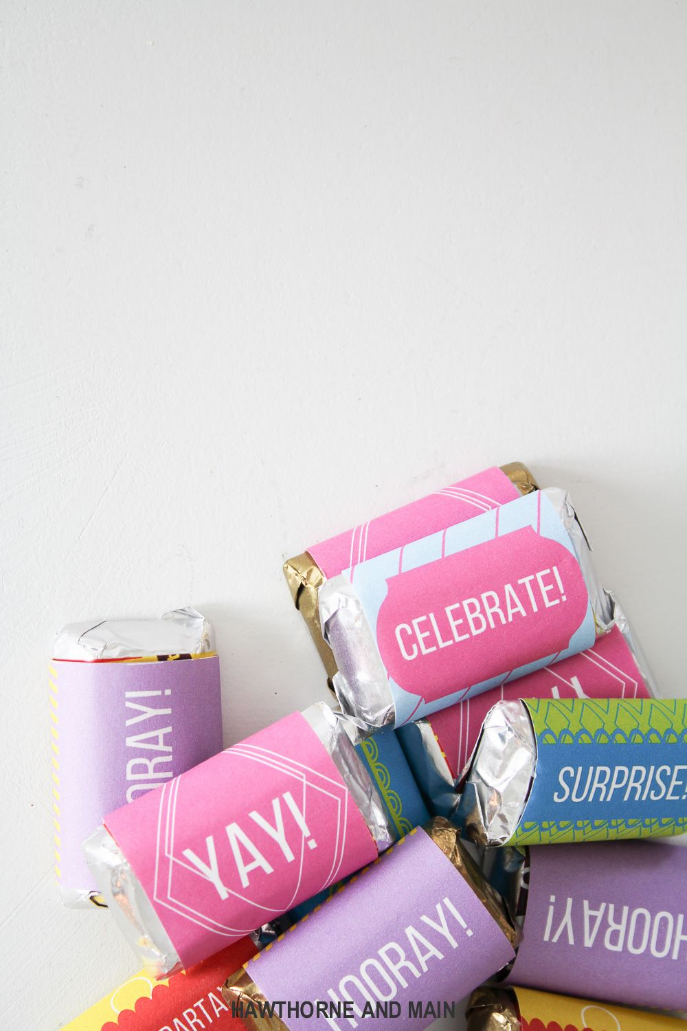 Happy Birthday Candy Wrappers- Free Printable | Birthday Treats - Free Printable Birthday Candy Bar Wrappers