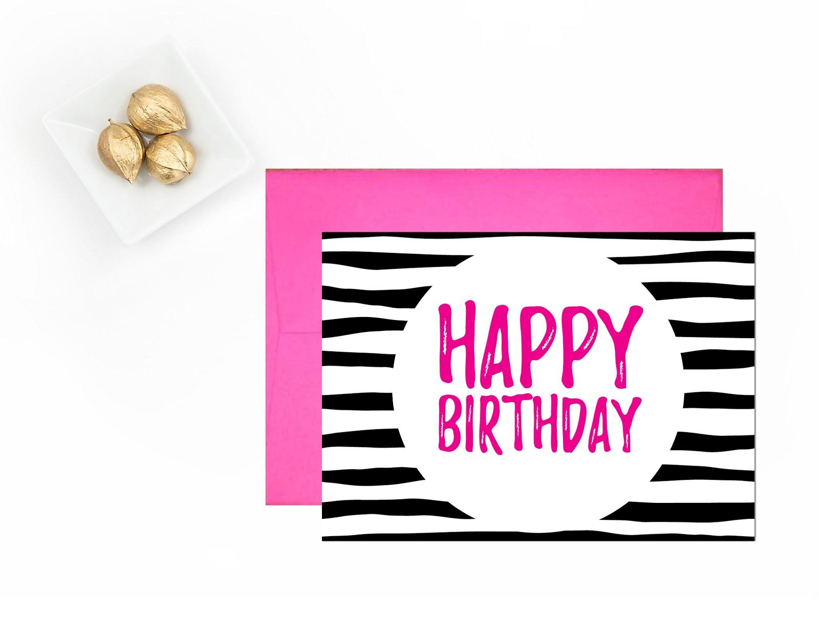 Happy Birthday | Free Printable Greeting Cards - Andree In Wonderland - Happy Birthday Free Cards Printable