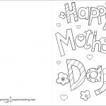 Happy Mother's Day Card Coloring Page | Free Printable Coloring Pages   Free Printable Mothers Day Coloring Cards