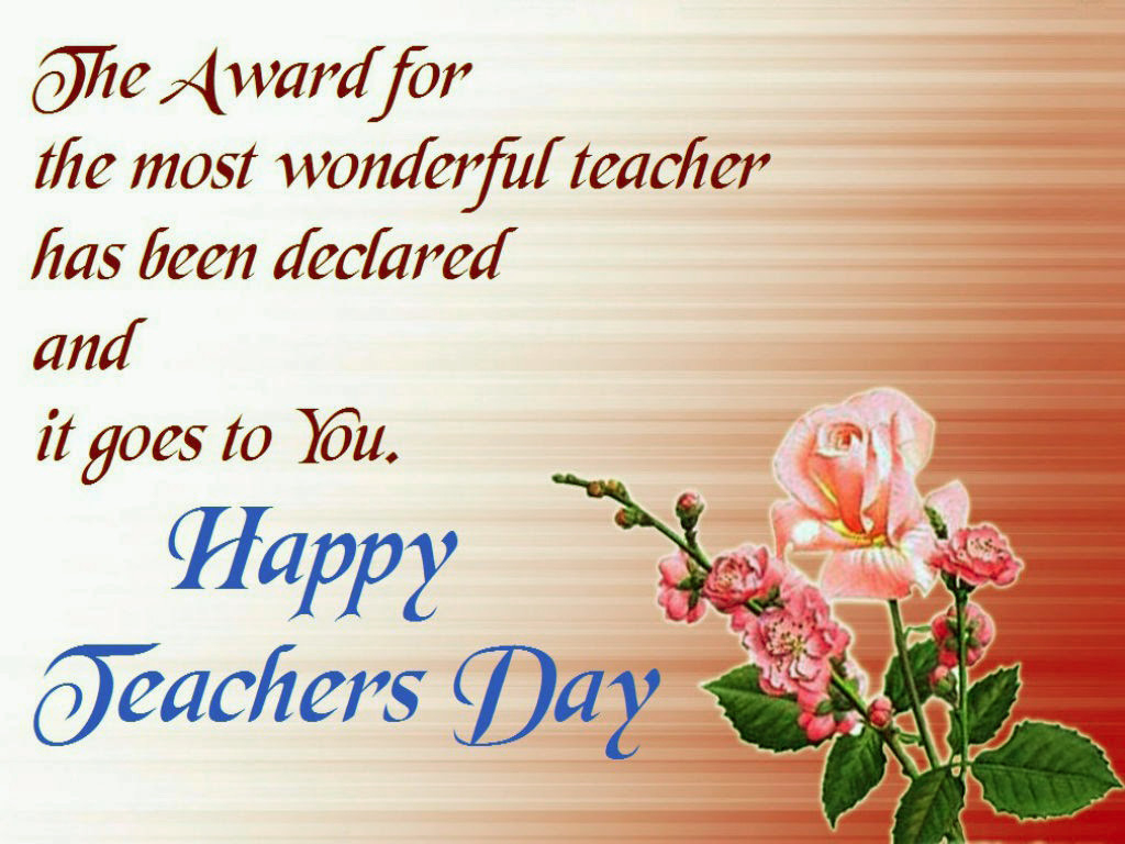 Happy Teachers Day Greeting Cards 2016 {Free Download} - Free Printable Teacher's Day Greeting Cards
