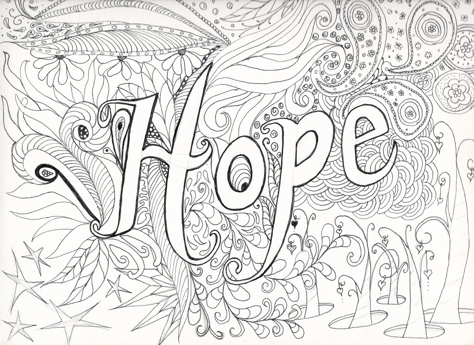 Hard Coloring Pages - Free Large Images | Coloring Pages | Pinterest - Free Printable Hard Coloring Pages For Adults