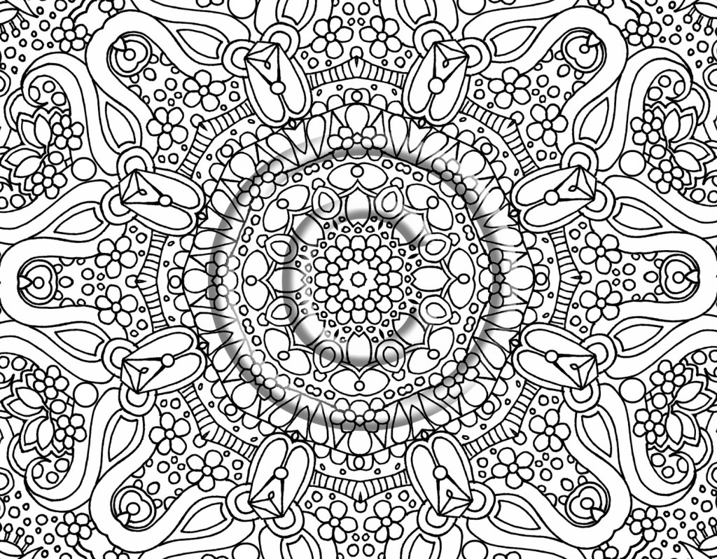 Hard Coloring Pages - Lezincnyc - Free Printable Hard Coloring Pages For Adults