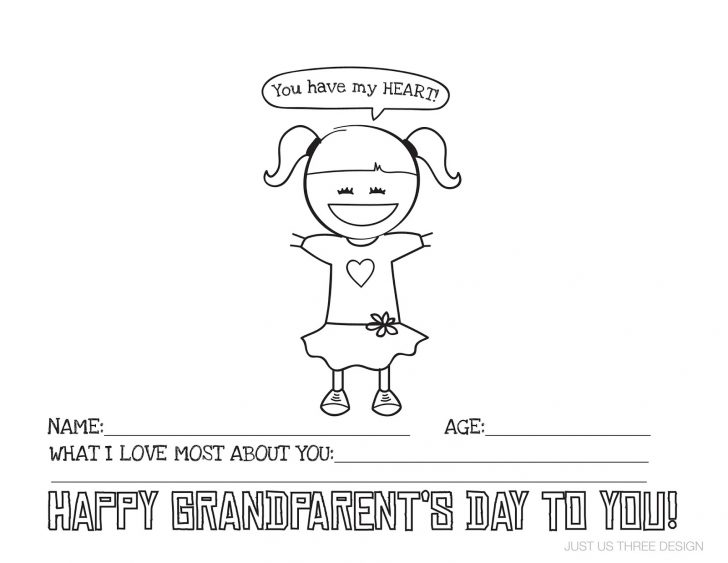 Grandparents Day Cards Printable Free