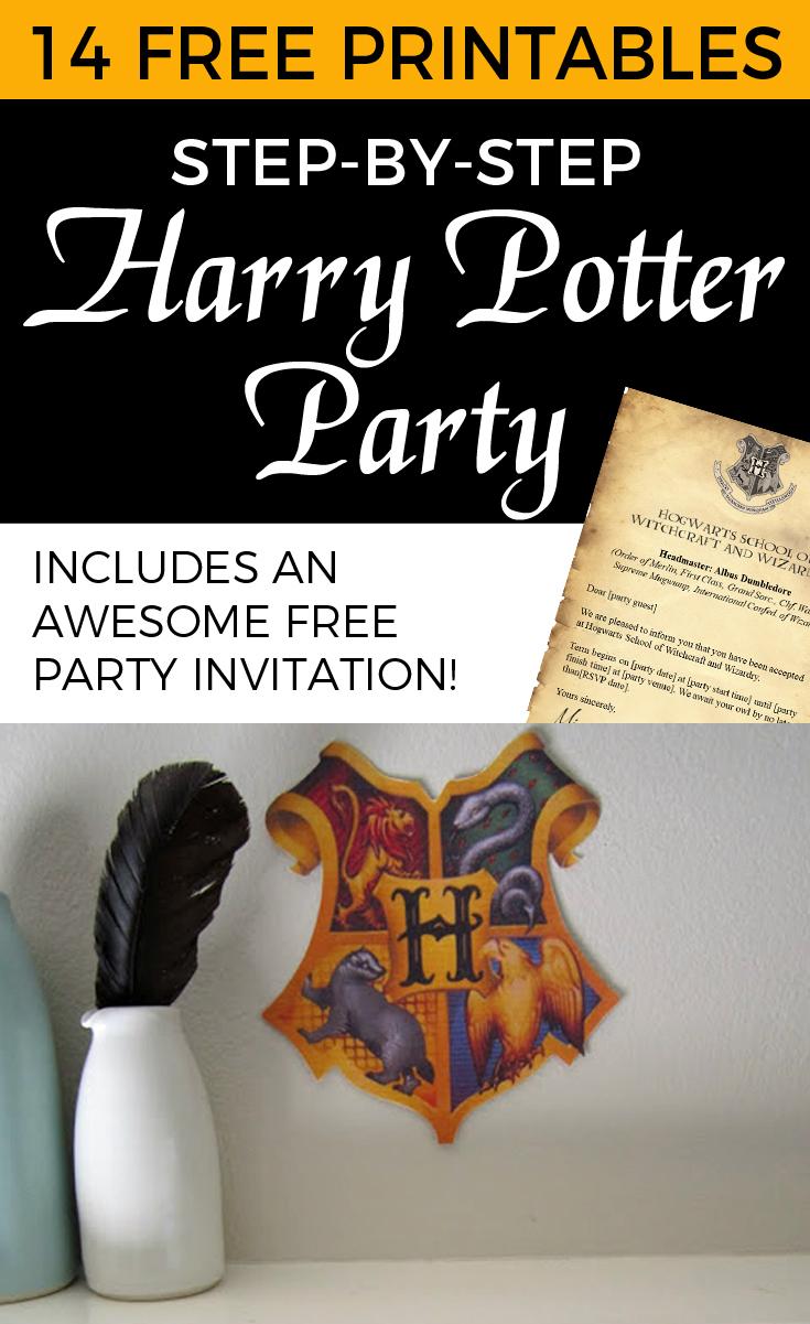 Harry Potter Free Printables - Invitation, Decorations, Games And - Free Printable Harry Potter Pictures