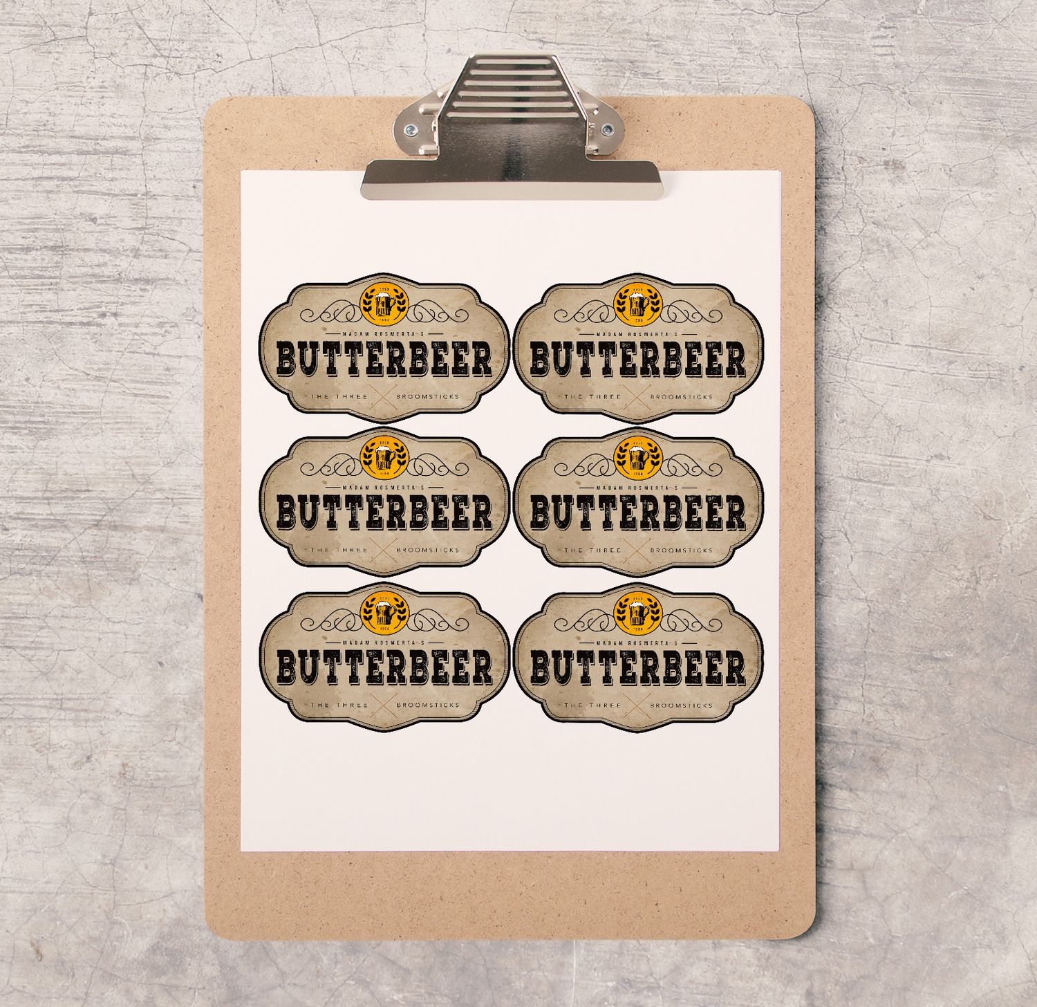 Harry Potter Party/bachelorette Printable's | Hp⚡ | Pinterest - Free Printable Butterbeer Labels