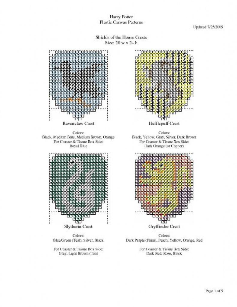 Harry Potter Plastic Canvas Patterns Screenshot   Plastic Canvas - Printable Plastic Canvas Patterns Free Online