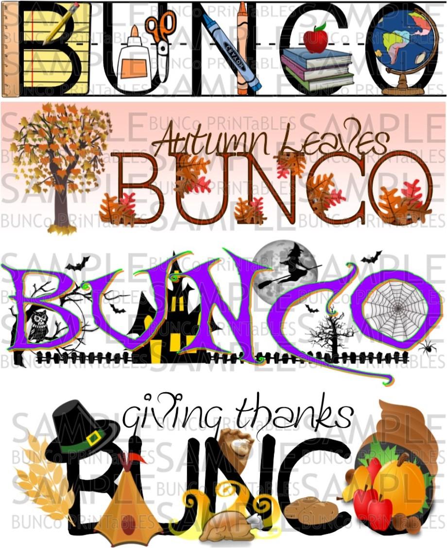 Haunted Halloween Bunco - Bunco Printables - Free Printable Halloween Bunco Score Sheets