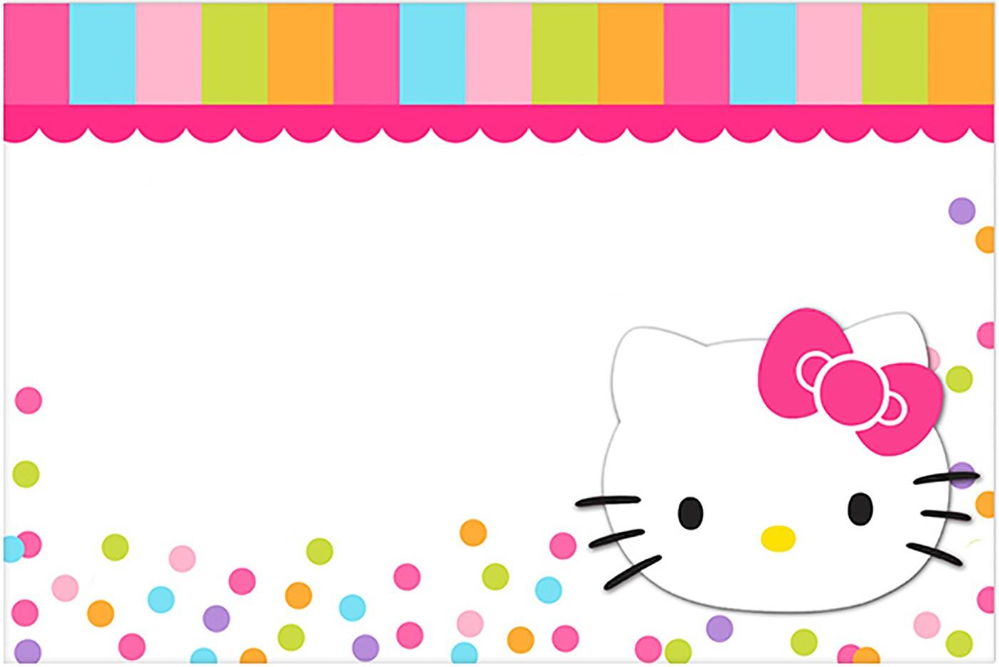 Hello Kitty Birthday Invitations Free — Birthday Invitation Examples - Hello Kitty Birthday Card Printable Free