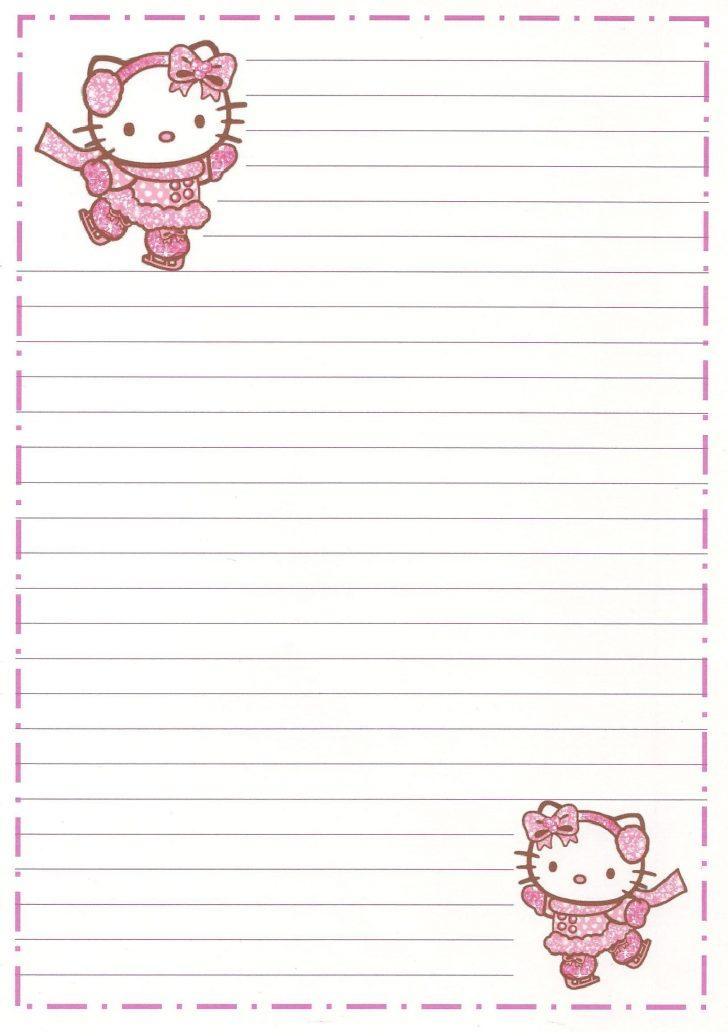 Free Printable Hello Kitty Stationery