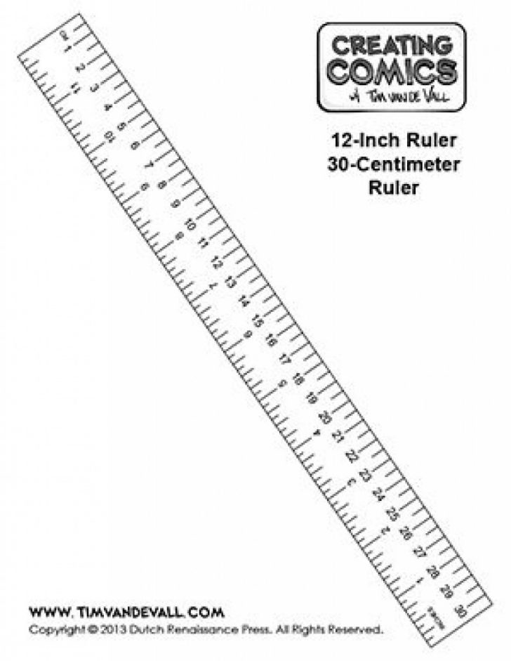 Free Printable Cm Ruler