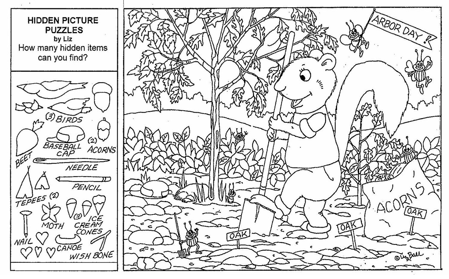 Hidden Objects Worksheets - Briefencounters Worksheet Template Samples - Free Printable Hidden Pictures