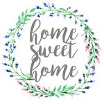 Home Sweet Home, Dorm Sweet Dorm, & Office Sweet Office Wall Art   Home Sweet Home Free Printable