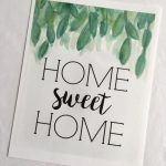 Home Sweet Home   Free Printable!   Miss Homebody   Home Sweet Home Free Printable