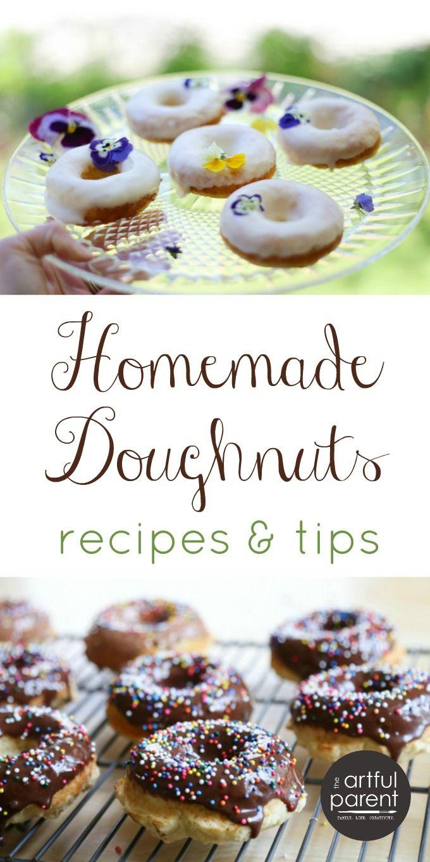 Homemade Doughnuts - A Free Eguide With Recipes & Tips | Recipes And - Free Printable Dessert Recipes