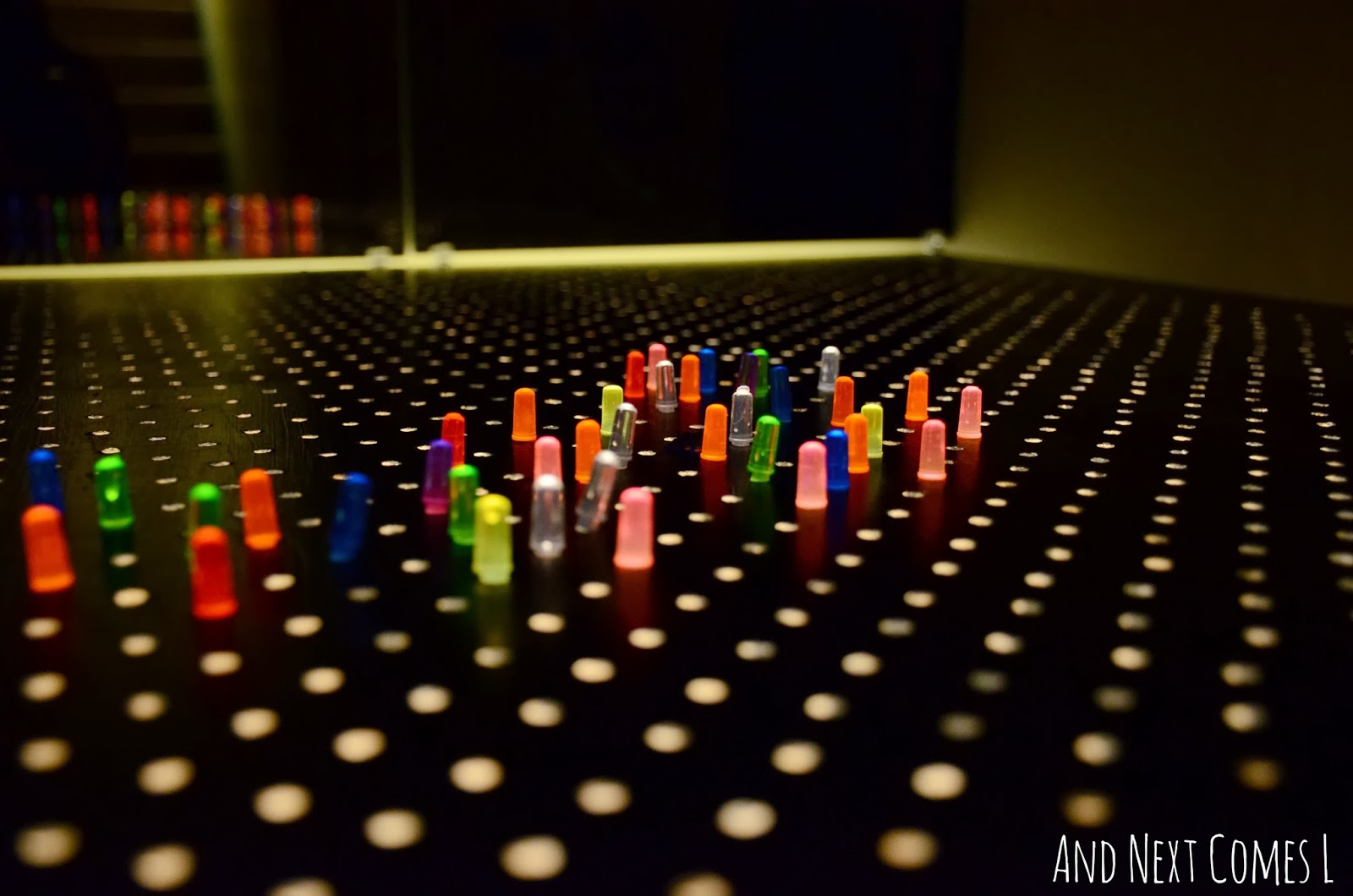 Homemade Light Bright | And Next Comes L - Lite Brite Printable Patterns Free