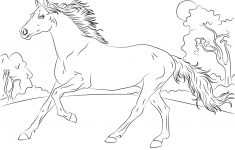 Horses Coloring Pages | Free Coloring Pages - Free Printable Horse Coloring Pages