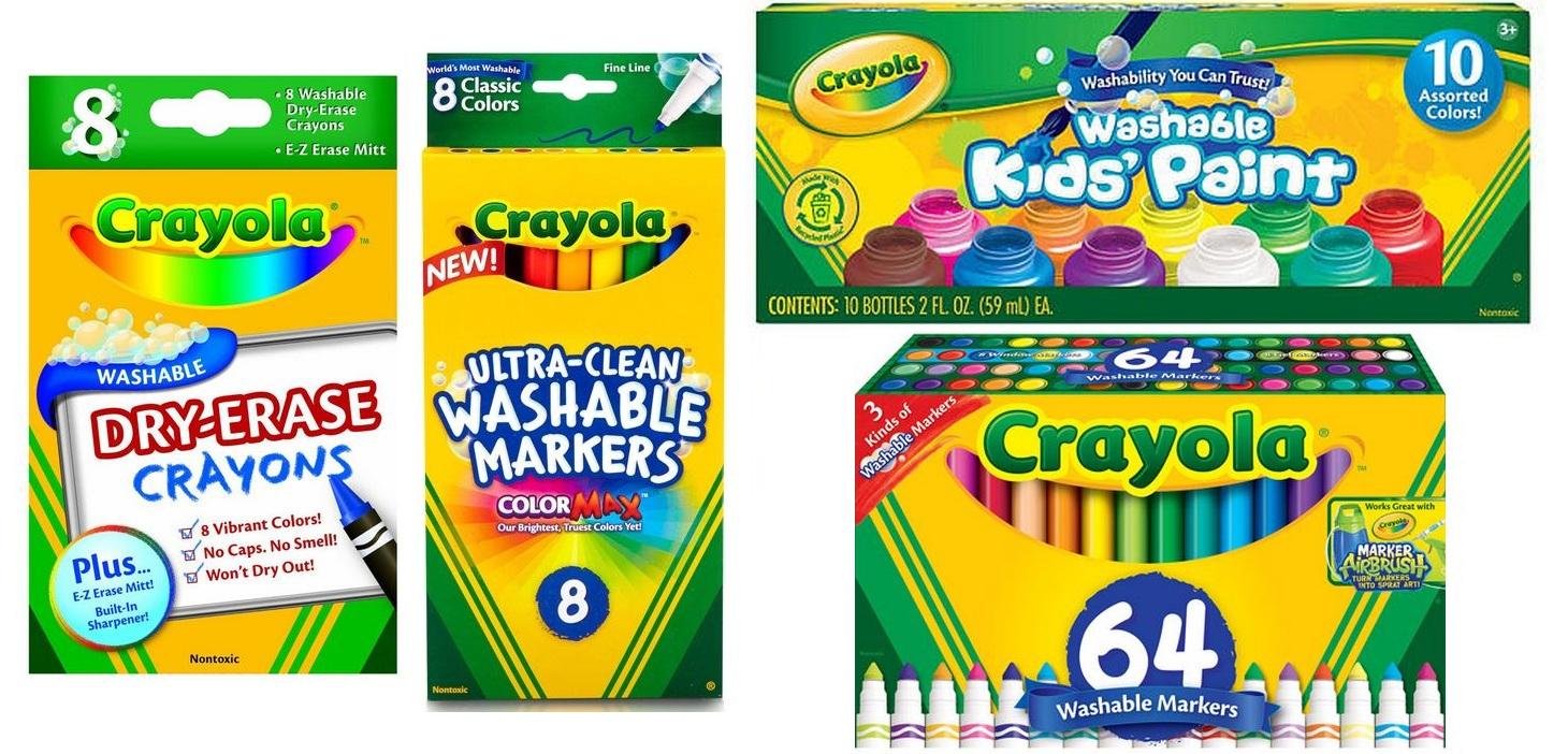 Hot* $2 Off $10 Crayola Target Coupon - Free Printable Crayola Coupons