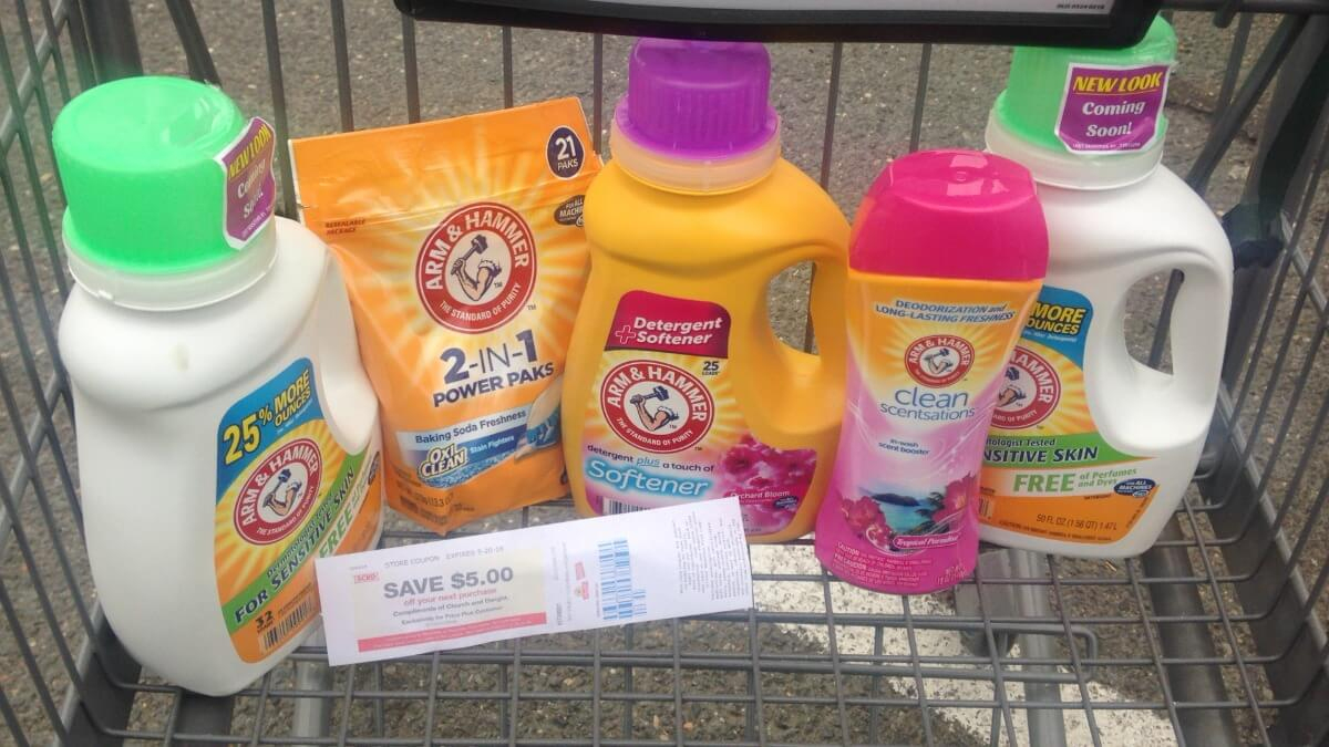 Hot! $5 In New Arm & Hammer Laundry Coupons - Over $5 Money Maker At - Free Printable Arm And Hammer Coupons
