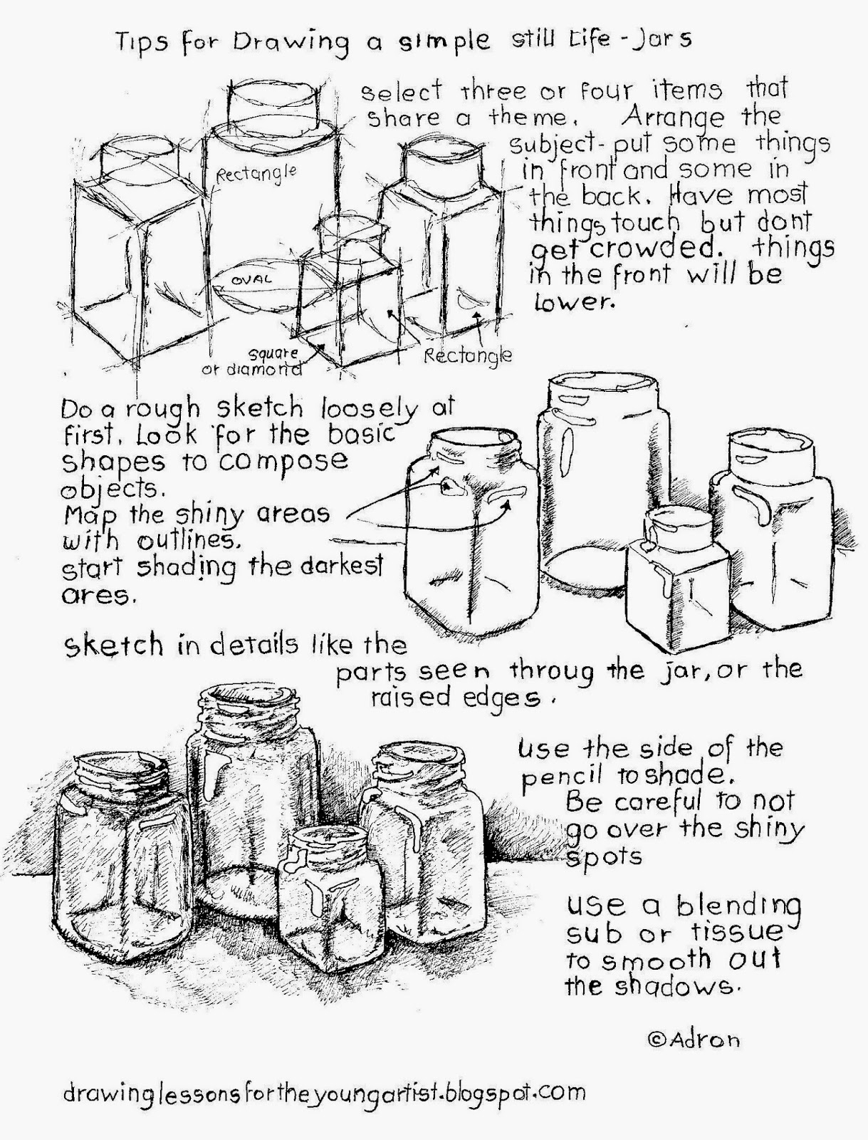 How To Draw A Still Life With Free Printable Worksheet - Homeschool - Free Printable Drawing Worksheets