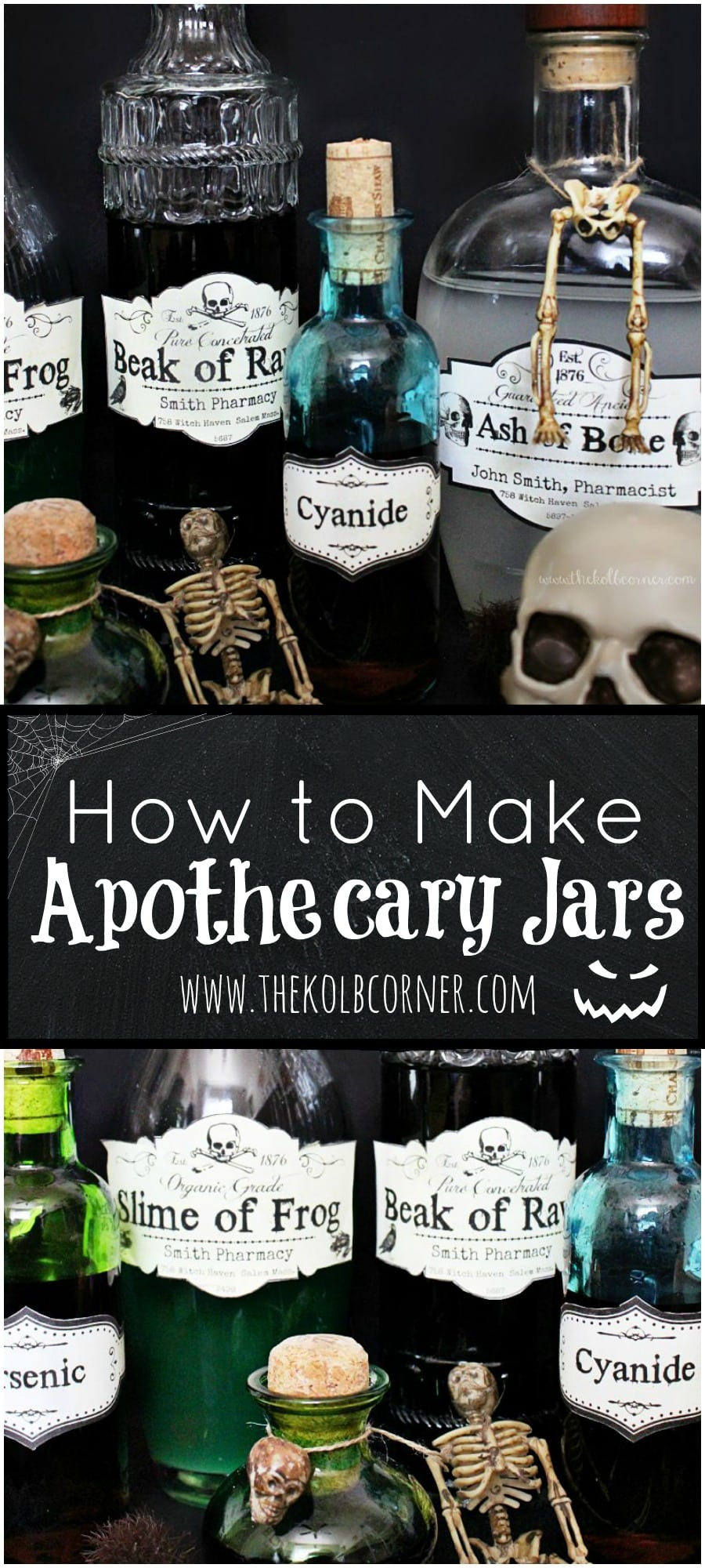 How To Make Apothecary Jars And Free Printable Labels   Domestically - Free Printable Apothecary Jar Labels