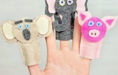 How To Make Felt Finger Puppets (Crafts For Kids) - Scattered - Free Printable Finger Puppet Templates