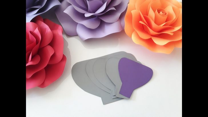 Free Paper Flower Templates Printable