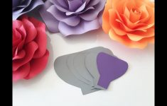 Free Printable Paper Flower Templates