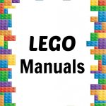 How To Organize Lego Manuals (+ Free Lego Printables!)   Free Printable Lego Instructions