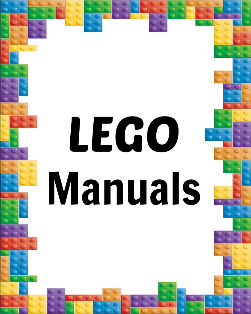How To Organize Lego Manuals (+ Free Lego Printables!) - Free Printable Lego Instructions